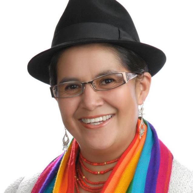 Lourdes Tibán - Asambleista