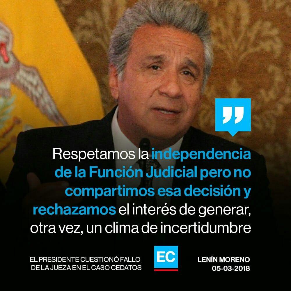 Lenin Moreno - Presidente del Ecuador